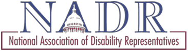 National Association of Disability Representatives logo